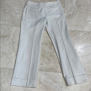 Loft Winter White Lined Trousers with Cuffs